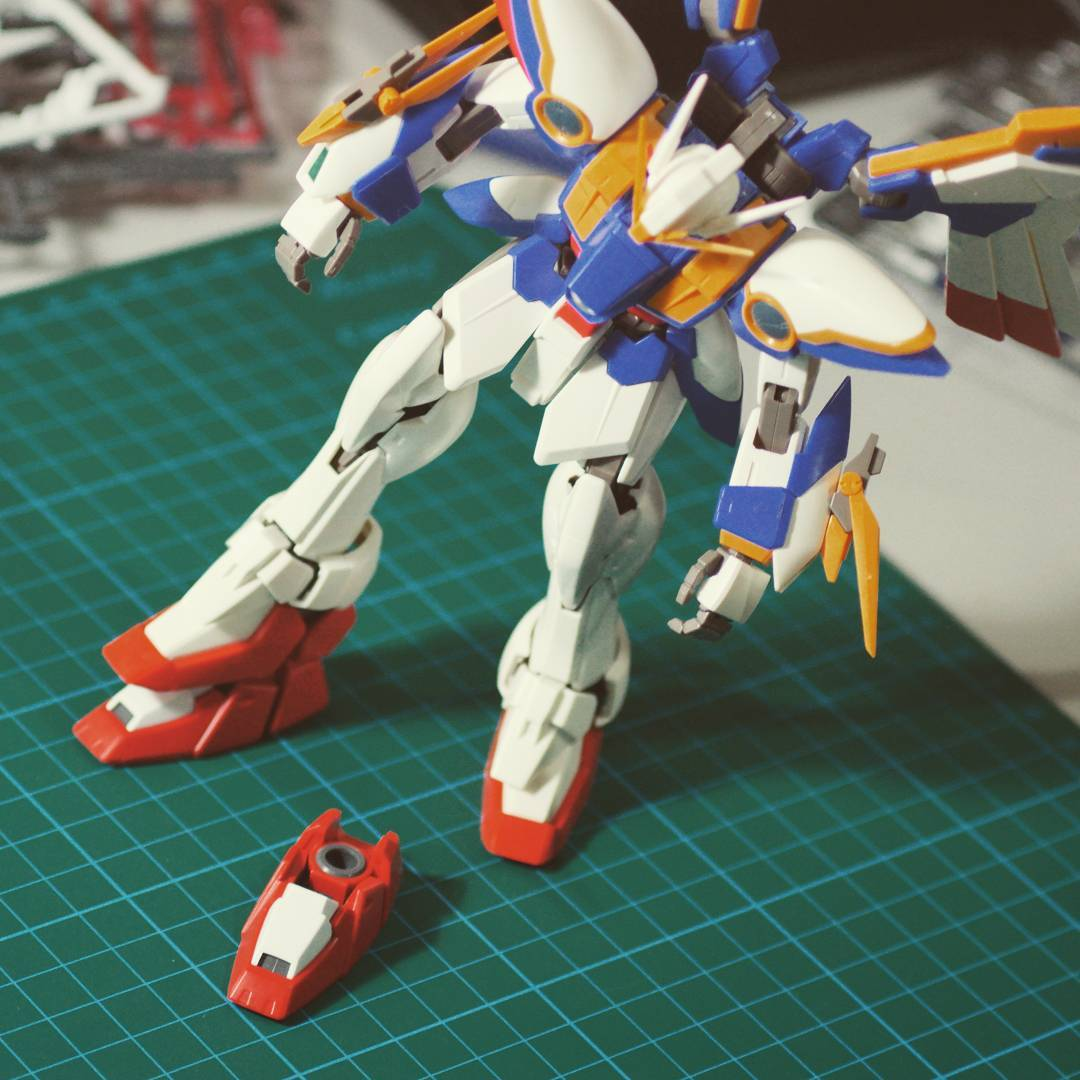 Wing Gundam: Does it fit?